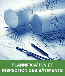 plannification et inspection de batiments